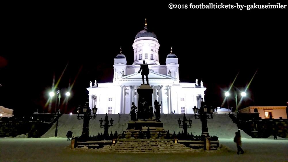 【ヘルシンキ旅行記】学生一人旅でヘルシンキ観光のアイキャッチ画像