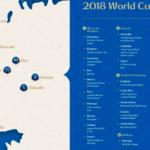 【ロシアワールドカップ出場国別】グループリーグの総移動距離まとめ〜toto予想に使えそうなデータを集...