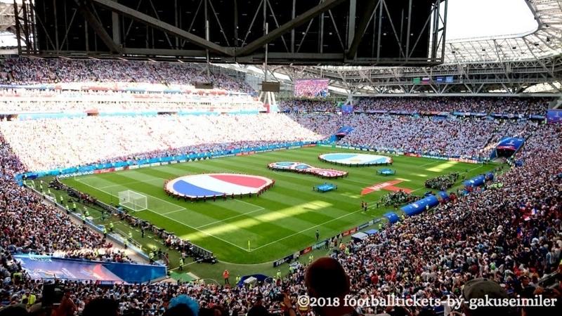 【ロシアワールドカップ ベスト16 フランスvsアルゼンチン観戦記】ムバッペ躍動&スーパーゴールの応酬に湧いた激闘の一戦!のアイキャッチ画像