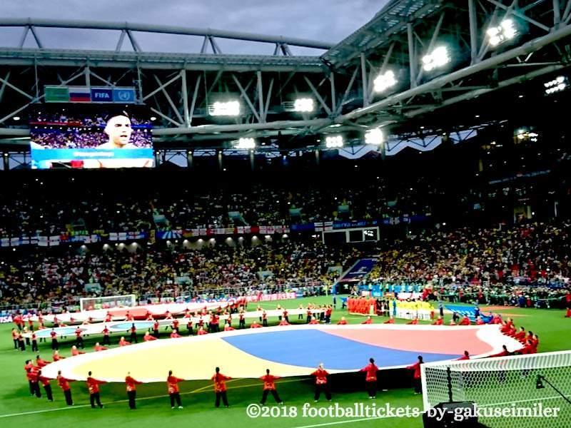【ロシアワールドカップ ベスト16 コロンビアvsイングランド観戦記】ロスタイム同点弾&PK戦で両チームの意地が見えた白熱のベスト16最終戦!のアイキャッチ画像