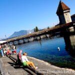 【ルツェルン旅行記】半日観光でも十分楽しめる!スイスの水の都に行ってきた