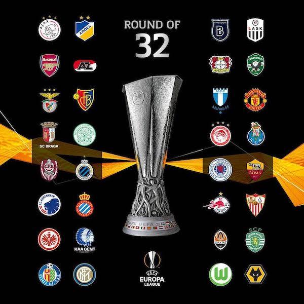 【2019-20】UEFAヨーロッパリーグ(EL)決勝T進出クラブは?全32クラブ一覧と組み合わせ抽選会概要を解説!のアイキャッチ画像