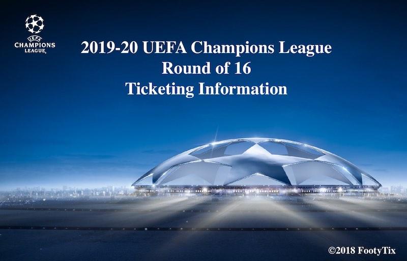【2019-20版】CLラウンド16全試合チケット販売スケジュール・購入方法まとめのアイキャッチ画像
