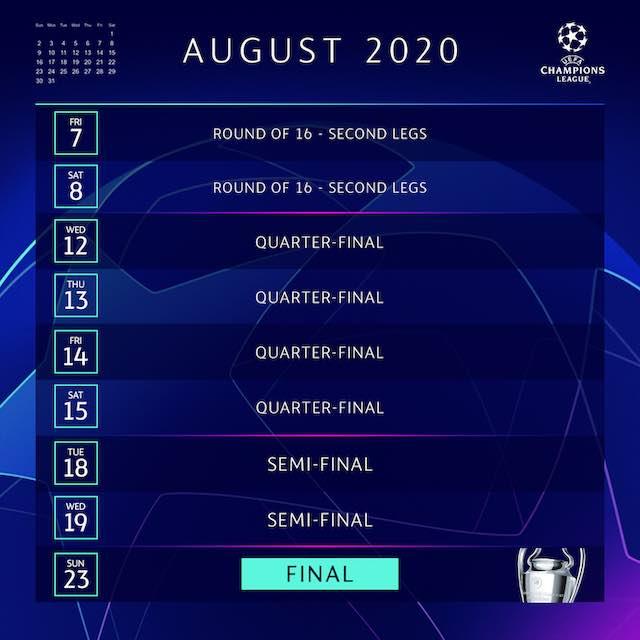 【8月7日再開】2019-20 UEFAチャンピオンズリーグ(CL)日程&大会フォーマットの変更点について徹底解説!のアイキャッチ画像