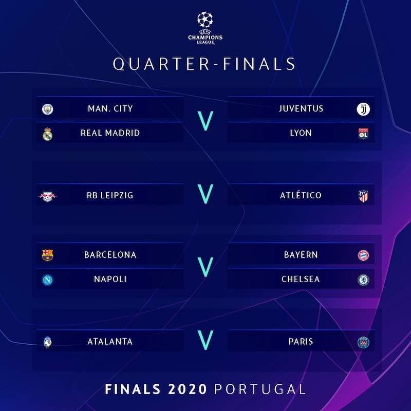 【2019-20】UEFAチャンピオンズリーグ(CL)準々決勝組み合わせ決定!一発勝負のファイナル8対戦カード・日程について徹底解説のアイキャッチ画像