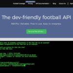無料APIとjQueryで海外サッカーの試合日程・順位表を自動取得する方法