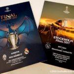 【欧州サッカーファン必見】UCL&UELファイナルのマッチデープログラムを手に入れる方法